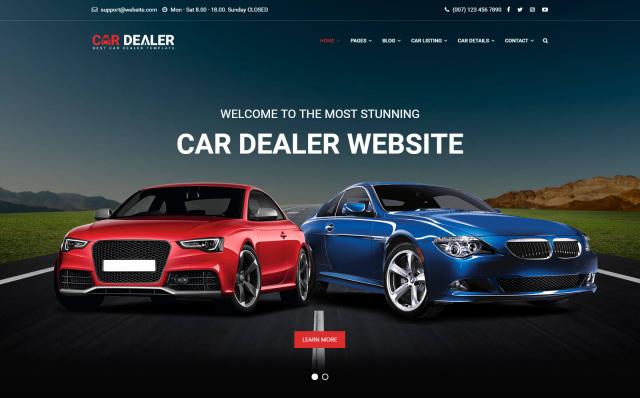 Responsive Dealer Website