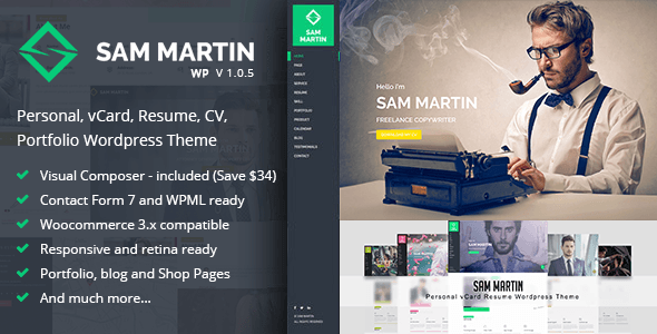 SamMartin Wordpress