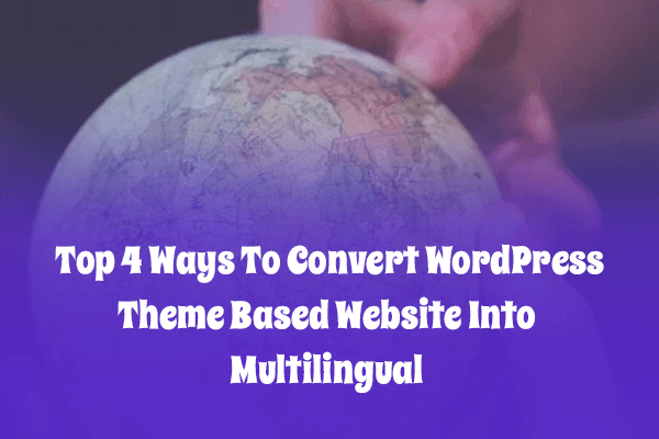 How to translate your multilingual WordPress theme